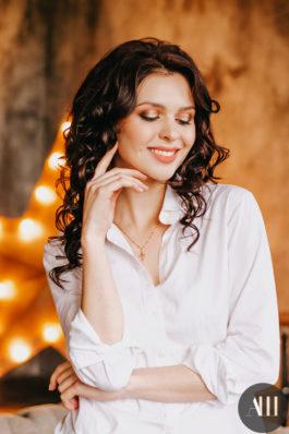 Вечерний образ прическа и макияж