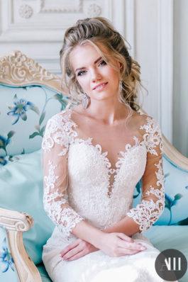 Яркий и элегантный свадебный образ от ведущего стилиста Анастасии Швабской